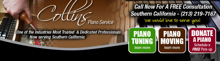 Los Angeles and Boston Piano Service and Tuning
