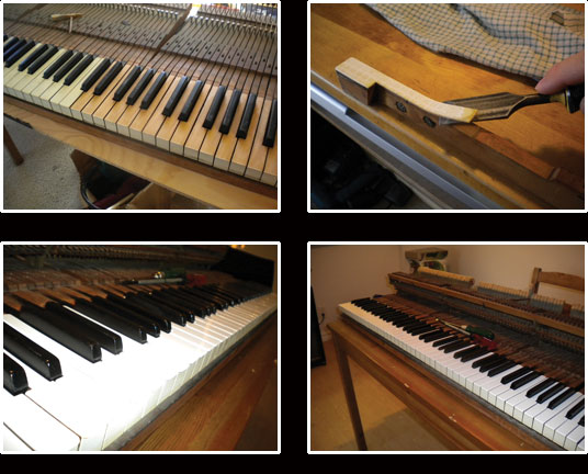 Piano Services in the Boston and Los Angeles and Surrounding Areas